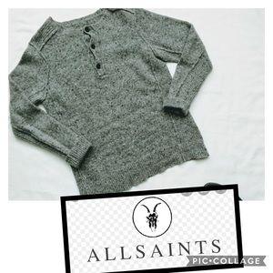 ALLSAINTS Trieste Grandad sweater